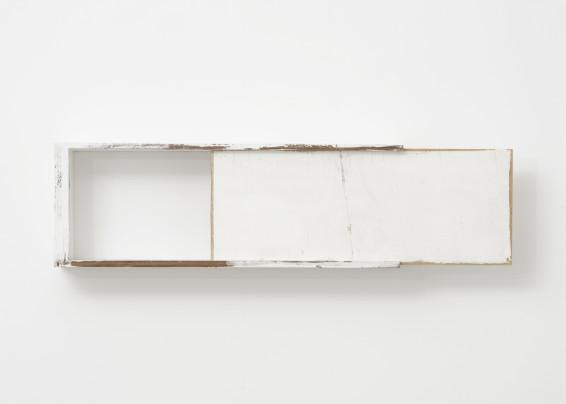 Fernanda Gomes Untitled, 2018 Wood, paint 18 x 66.7 x 11 cm, 7 1/8 x 26 1/4 x 4 3/8 ins Unique