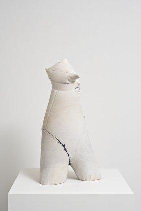 Helen Barff Untitled (BS), 2010 Plaster 52 x 26 x 16 cm 20 1/2 x 10 1/4 x 6 1/4 ins