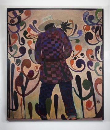 Ryan Mosley  Heavy Bouquet, 2011  Oil on linen  220 x 190 cm 86 5/8 x 74 3/4 in