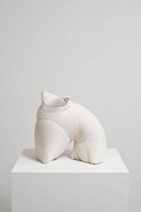 Helen Barff Untitled (GS), 2011 Plaster 29 x 31 x 22 cm 11 3/8 x 12 1/4 x 8 5/8 ins