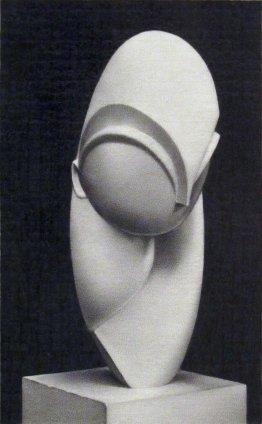 Dan Fischer Brancusi's Mademoiselle Pogany, 2011 Graphite on paper Image size: 13.3 x 8.3 cm 5.25 x 3.25 ins Paper size: 38.1 x 27.9 cm 15 x 11 ins Framed: 41.5 x 31.2 cm 16 3/8 x 12 1/4 ins