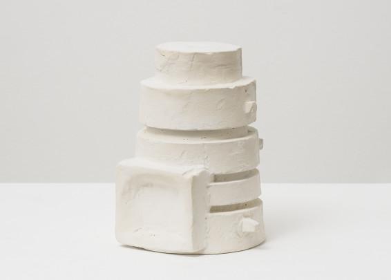 Branko Vlahović  Skulptura I, 1963  Plaster  17.5 x 13.5 x 13.5 cm, 6 7/8 x 5 1/4 x 5 1/4 ins  Unique