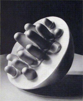 Dan Fischer Louise Bourgeois, Germinal, 2011 Graphite on paper Image size: 15.9 x 13 cm 6 1/4 x 5 1/8 ins Paper size: 41.9 x 32.1 cm 16 1/2 x 12 5/8 ins Framed: 45.3 x 35.4 cm 17 7/8 x 14 ins