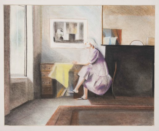 Sue Dunkley  Untitled, 1979  Pastel on paper  56 x 69 cm, 22 1/8 x 27 1/8 ins, paper size  68 x 82 cm, 26 3/4 x 32 1/4 ins, framed  Signed lower right and dated