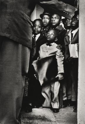Gordon Parks Black Muslim Schoolchildren, Chicago, Illinois, 1963 Silver Gelatin Print 25.4 x 20.3 cm, 10 x 8 ins, paper size 45.2 x 37.8 cm, 17 3/4 x 14 7/8 ins, framed
