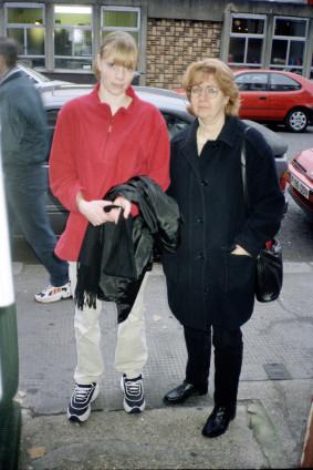 Juergen Teller  Laura Sadler, London, 3rd December 1998  Giclee print  30.5 x 25.4 cm, 12 x 10 ins  35 x 29.5 cm, 13 3/4 x 11 5/8 ins framed  Edition 1/5