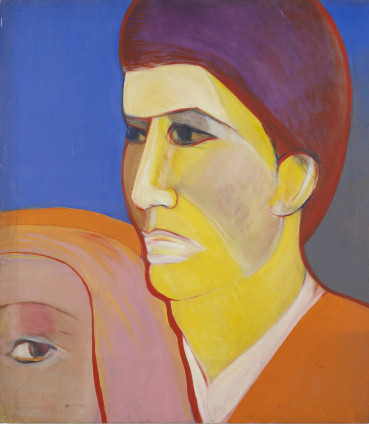 Sue Dunkley  Untitled (Melancholy), c. 1968  Oil on canvas  122.5 x 107.5 cm, 48 1/4 x 42 3/8 ins