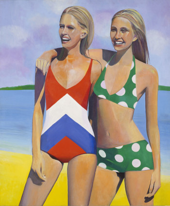 Sue Dunkley Untitled (Two Blondes), c. 1970 Oil on canvas 182.5 x 152 cm, 71 7/8 x 59 7/8 ins