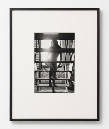 Hannah Wilke So Help Me Hannah, 1978 Black and white photograph 35.6 x 27.9 cm, 14 x 11 ins, paper size 58 x 50 x 2.2 cm, 22 7/8 x 19 3/4 x 7/8 ins, framed Signed