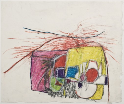 Hannah Wilke Untitled, c. 1960s Pastel on rice paper Unframed: 30.5 x 25.4 cm / 12 x 10 ins Framed: 48.2 x 52.7 cm / 19 x 20 3/4 ins Signed
