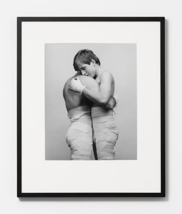 Robert Mapplethorpe White Gauze, 1984 Silver Gelatin Print 50.8 x 40.6 cm, 20 x 16 ins, paper size 73.3 x 60.1 cm, 28 7/8 x 23 5/8 ins, framed Edition 6/10 + 2 APs Printed in 2011