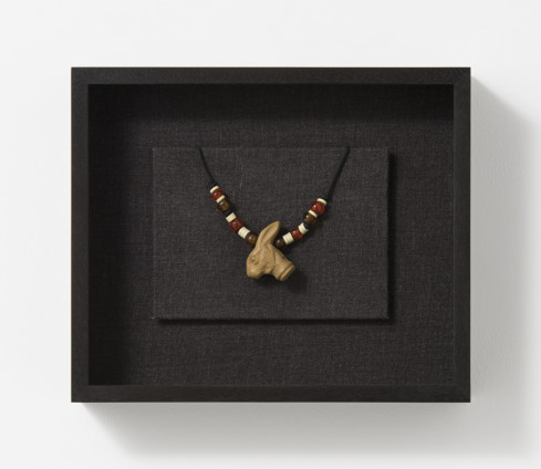 Robert Mapplethorpe Necklace, 1970-71 Mixed media 23.2 x 27.7 x 6.5 cm, 9 1/8 x 10 7/8 x 2 1/2 ins, framed Unique