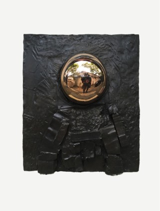 Erika Verzutti  Astronauta, 2015  Bronze and glass  100 x 94 x 40 cm, 39 3/8 x 37 1/8 x 15 3/4 ins  Edition 1/3 + 1AP