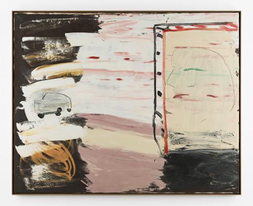 Roy Oxlade Car, c. 1984 Oil on canvas 120 x 152 cm, 47 1/4 x 59 7/8 ins 124 x 154 cm, 48 7/8 x 60 5/8 ins, framed