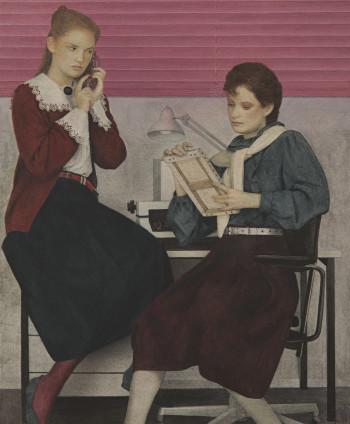 Graham Little Untitled (Telephone), 2019 Gouache on paper 26.6 x 22 cm, 10 1/2 x 8 5/8 ins 56.9 x 50.4 cm, 22 3/8 x 19 7/8 ins, framed