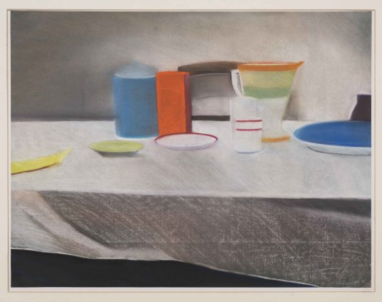 Sue Dunkley Untitled, 1980 Pastel on paper 49 x 64 cm, 19 1/4 x 25 1/4 ins, paper size 63 x 76 cm, 24 3/4 x 29 7/8 ins, framed Signed lower right and dated