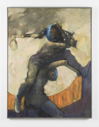 Dorothea Tanning Dionysos SOS, 1987-89 Oil on canvas 117.8 x 90.6 cm, 46 3/8 x 35 5/8 ins, framed Signed and dated, lower right