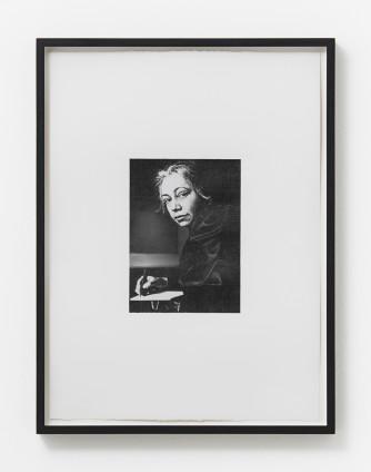 Dan Fischer Kathe Kollwitz, 2011 Graphite on paper 18.4 x 13.3 cm, 7 1/4 x 5 1/4 ins 47.3 x 35.8 cm, 18 5/8 x 14 ins, framed