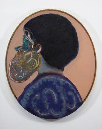 Ryan Mosley  Primitive Ancestry XIV, 2011  Oil on linen on board  100 x 120 cm 39 3/8 x 47 1/4 in
