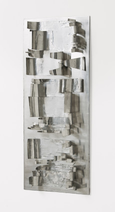 Maria Bartuszová Untitled, c. 1970 Aluminium 68.5 x 29.5 x 8.5 cm, 27 x 11 5/8 x 3 3/8 ins Unique