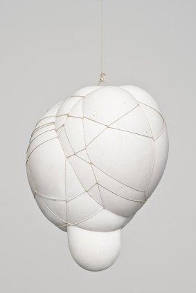 Maria Bartuszová Untitled 13, 1985 Plaster, string 35 x 25 x 25 cm, 13 3/4 x 9 7/8 x 9 7/8 ins Unique
