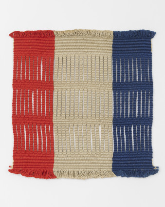 Lenore Tawney Untitled, 1969 Linen 45.7 x 45.7 cm, 18 x 18 ins Signed on the recto