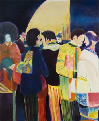 Ryan Mosley  Young Cobra Club, 2016  Oil on canvas  183 x 150 cm, 72 1/8 x 59 1/8 ins