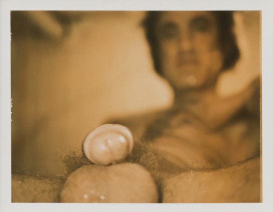 Robert Mapplethorpe Sam Wagstaff, 1973 Colour Polaroid 8.6 x 10.8 cm, 3 3/8 x 4 1/4 ins, paper size Unique