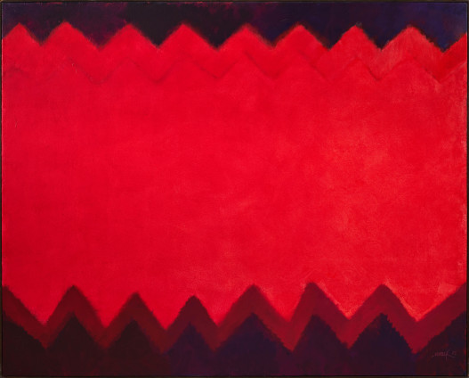 Feuer-Teppich (Chromatische Konstellation) [Fire-Carpet (Chromatic Constellation)], 1993