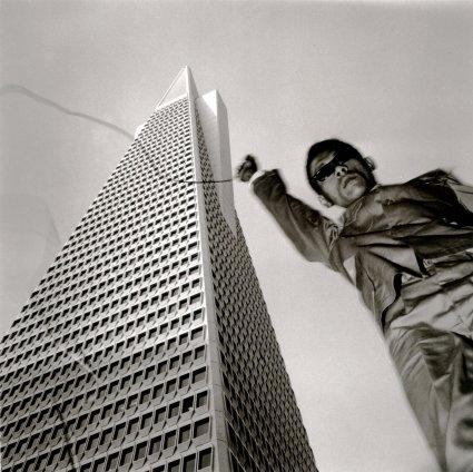 Tseng Kwong Chi, San Francisco, California (Trans Am), 1979