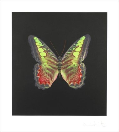 Damien Hirst, The souls on Jacob's Ladder take their flight, Untitled 02, 2007