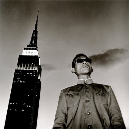 Tseng Kwong Chi, New York, New York (Empire State), 1979