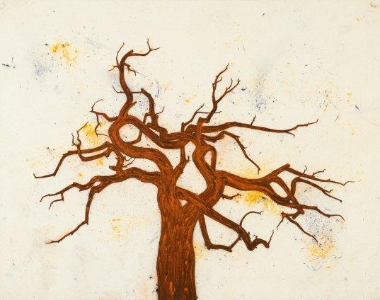 Tony Bevan, Tree (PC1310), 2013