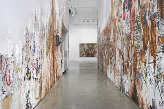 José Parlá, Walls, Diaries, and Paintings