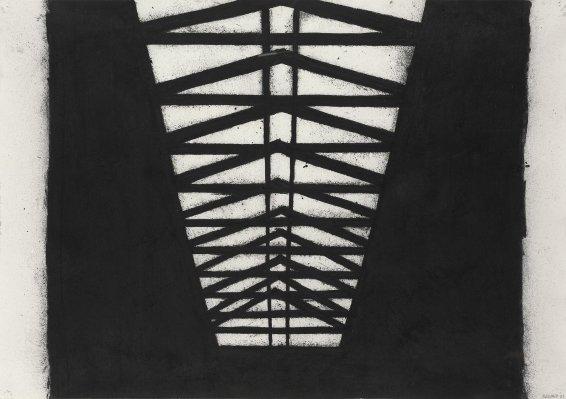 Tony Bevan, Black Rafters, 2001