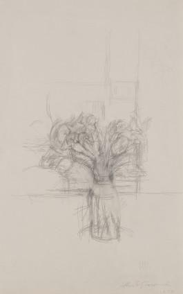 Alberto Giacometti, Nature morte aux fleurs, 1954