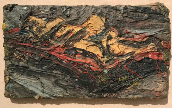Leon Kossoff, Nude on a Red Bed, 1970