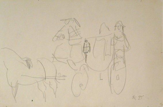 Raoul Dufy, La Calèche, 1926