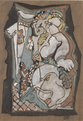 Béla Kadar, Face and Figures, c. 1940