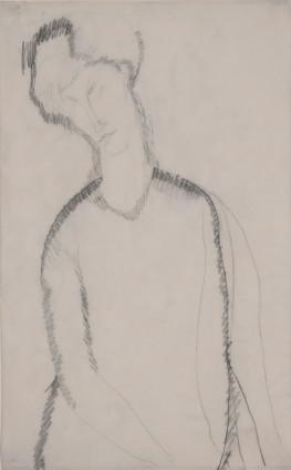 Amedeo Modigliani, Femme Assise, c. 1909