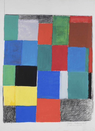 Sonia Delaunay, Rythme couleur, 1968