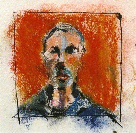 Paul Richards, Self portrait, 2008
