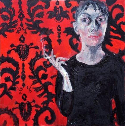 Shani Rhys James, Woman Smoking, 2011