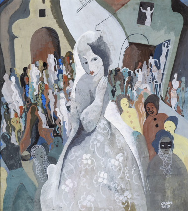 Béla Kadar, The Wedding, c. 1940