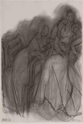Henri Matisse, Deux femmes assises, 12 June 1938