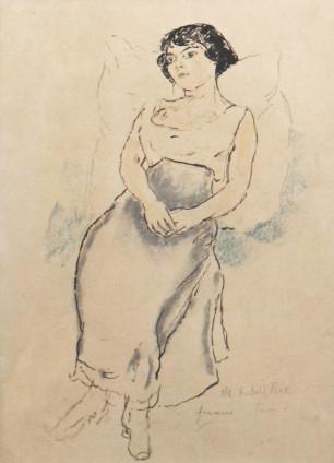 Jules Pascin, Portrait de jeune fille, 1908