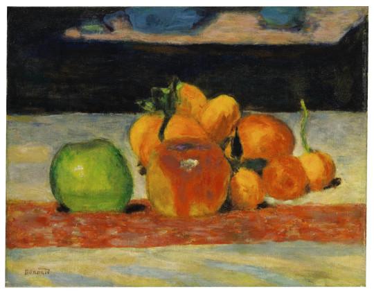 Pierre Bonnard, Nature morte, fruits, c.1942