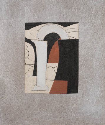 Ben Nicholson, Variation on a Theme, Corinth 5, 1965