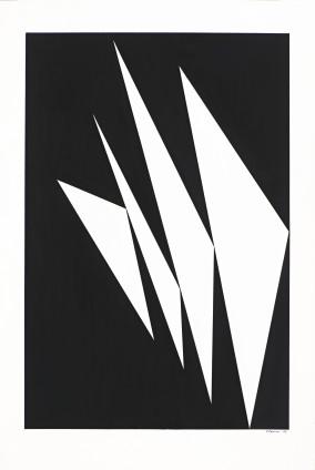 Geneviève Claisse, Triangles, 1966