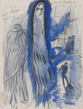 Kees van Dongen, Etude for 'Rio des Mendiant', 1921